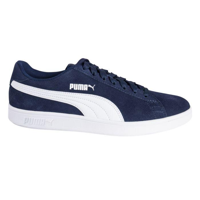Sneaker Puma Smash V2 en cuir style rétro unisexe