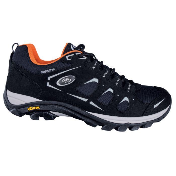 Chaussure outdoor fonctionnelle Brütting pour dames et hommes noir