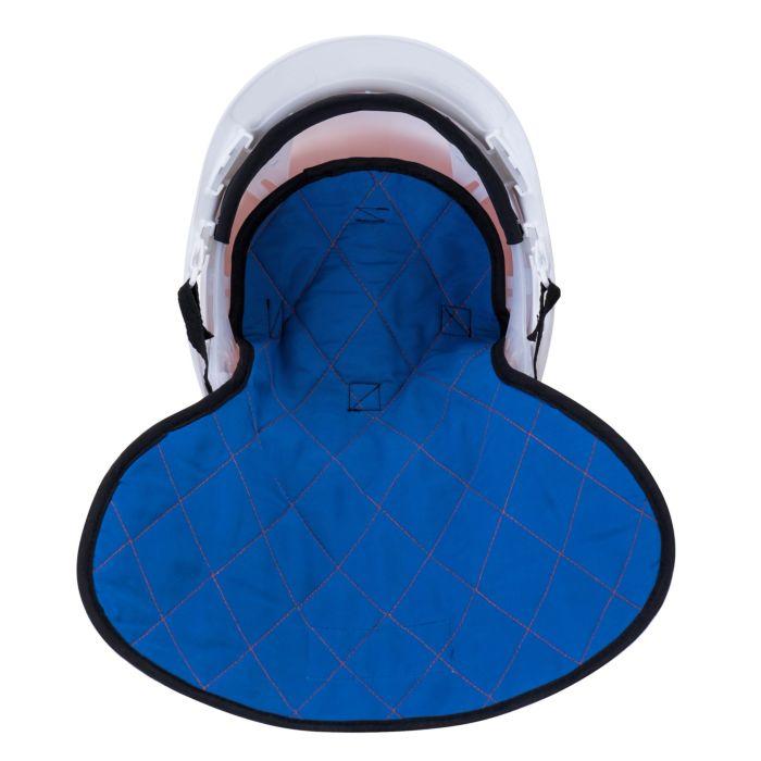 Kühlmütze für Helm mit Nackenverlängerung