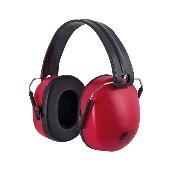 Gehörschutz faltbar rot