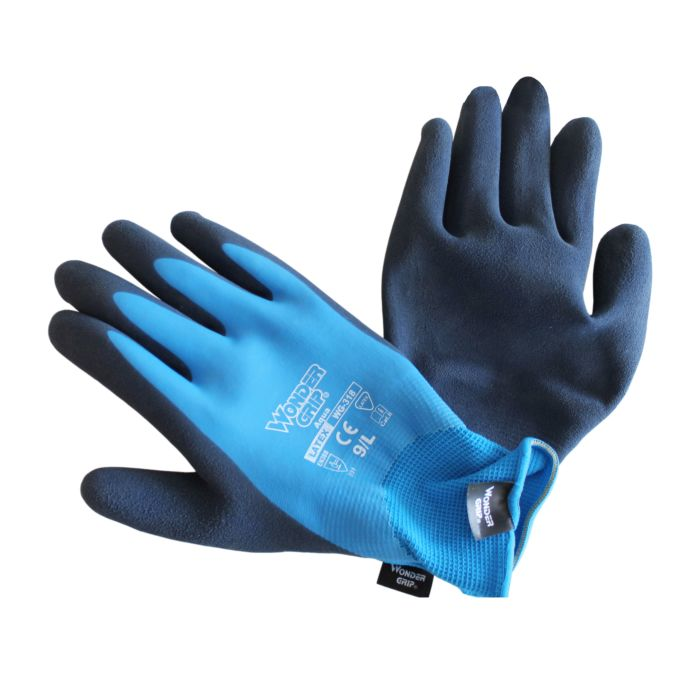 Gants Wondergrip imperméables en mousse de latex lot de 3 paires