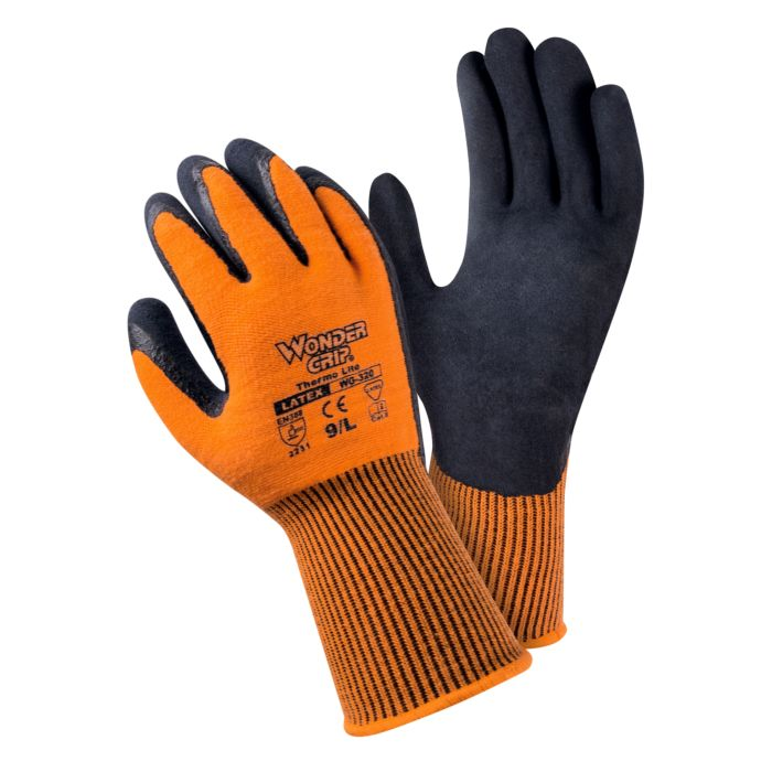 WONDERGRIP Schaumlatex-Handschuh warm 3er Pack