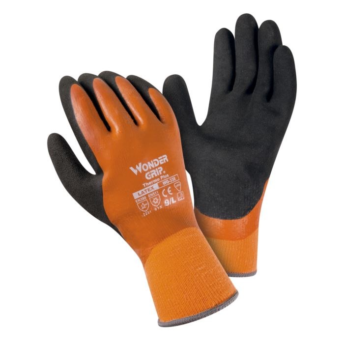 Wondergrip Doppel Schaumlatex-Winterhandschuh 2er Pack