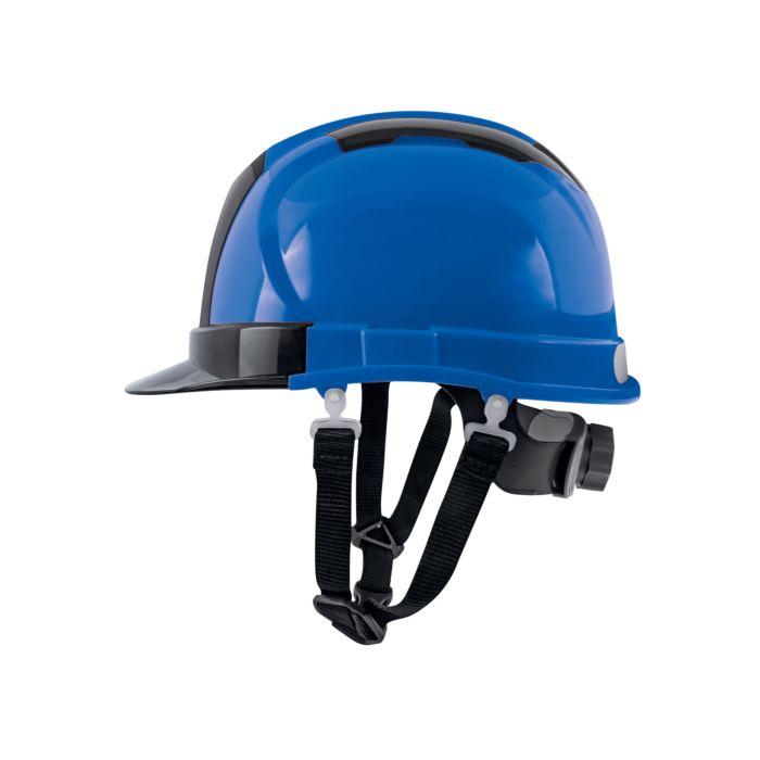 Image of Bauhelm Deluxe blau