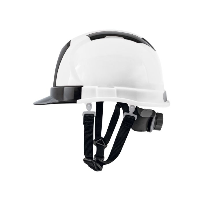 Image of Bauhelm Deluxe weiss