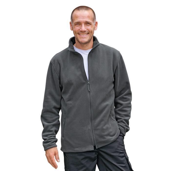 Herren Fleece-Jacke mit 2 Seitentaschen