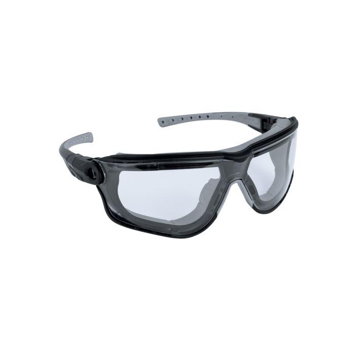 Abgedichtete Schutzbrille kratzfest