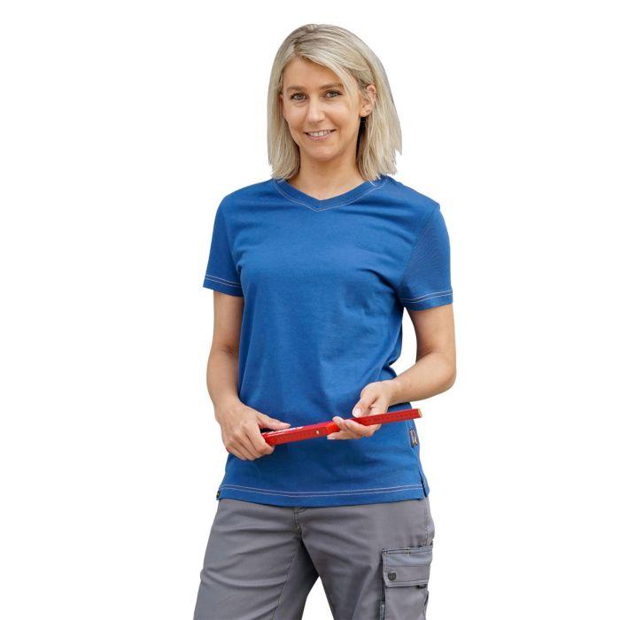 T-shirt Wikland pour dames à encolure en V