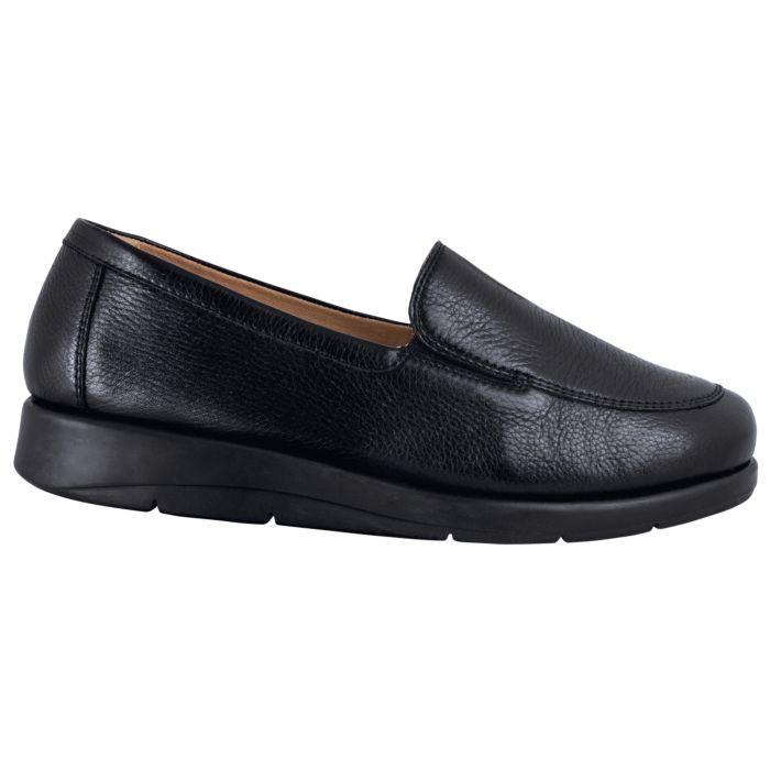 Chaussure Caprice en cuir nappa pour dames