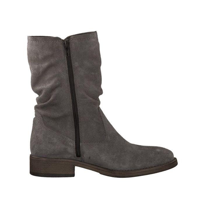 Tamaris Damen Stiefel aus Veloursleder