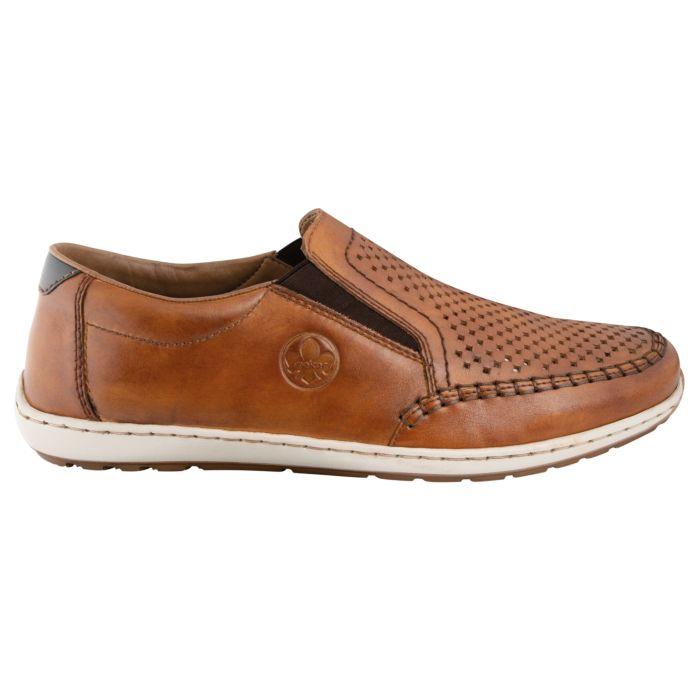 Chaussure Rieker en cuir pour hommes
