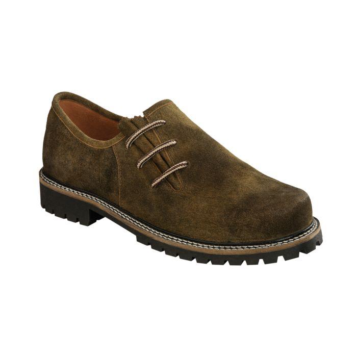 Chaussure Haferl, idéale à porter avec un pantalon bavarois en cuir