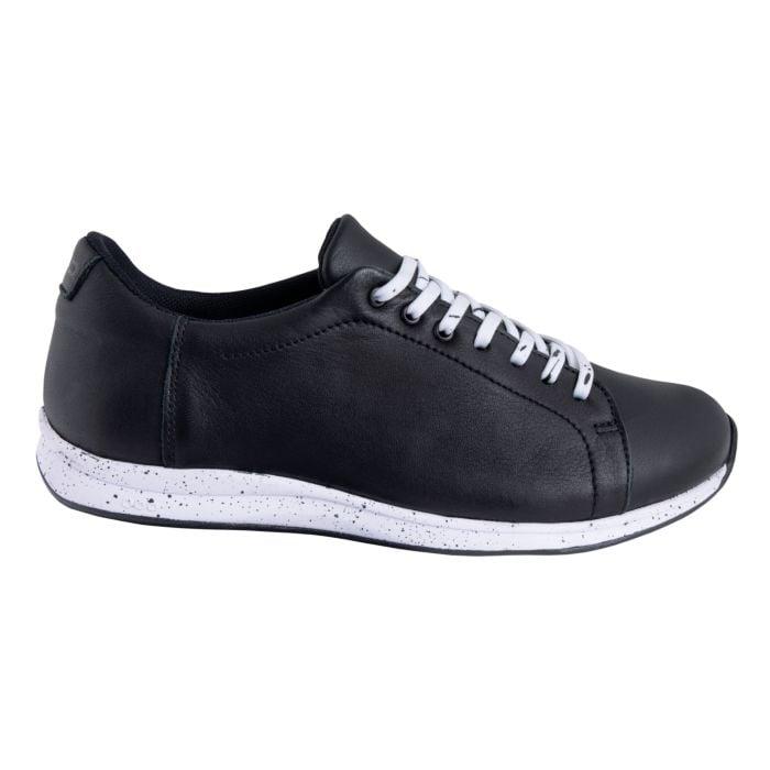 Sneaker GNL en cuir nappa