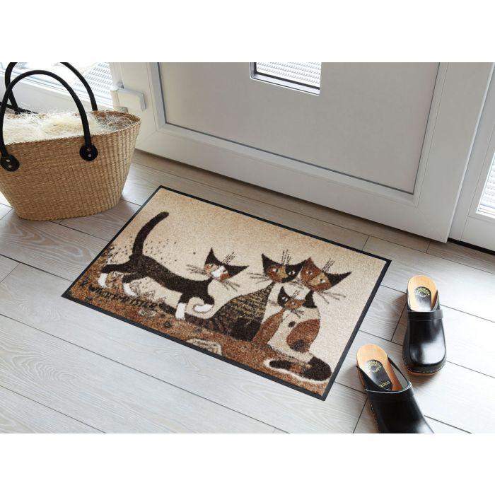 Paillasson avec chats Serafino & Friends
