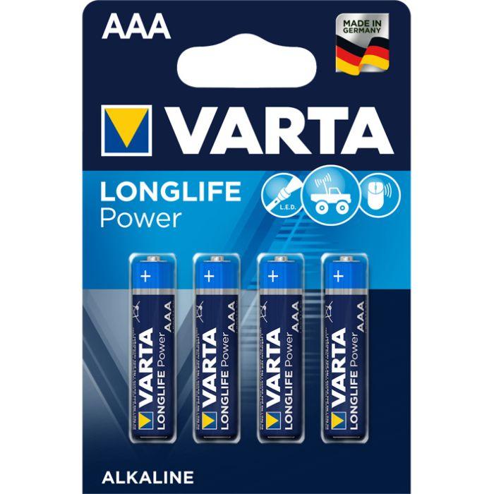 Batterien AAA, 4 Stück