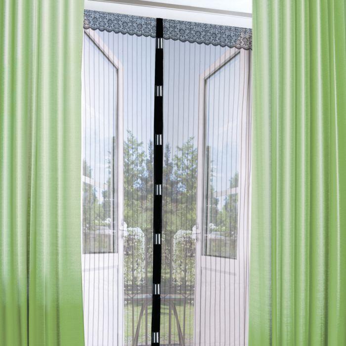 Moustiquaire pour porte-fenêtre, magnétique