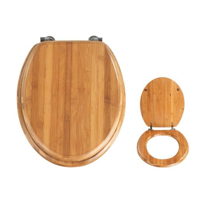 WC-Sitz aus Holz