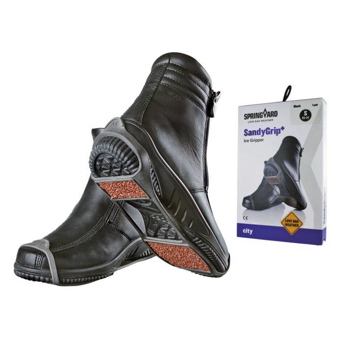 Système antidérapant pour chaussures SandyGrip+ noir