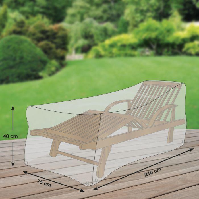Housse de protection pour chaise longue