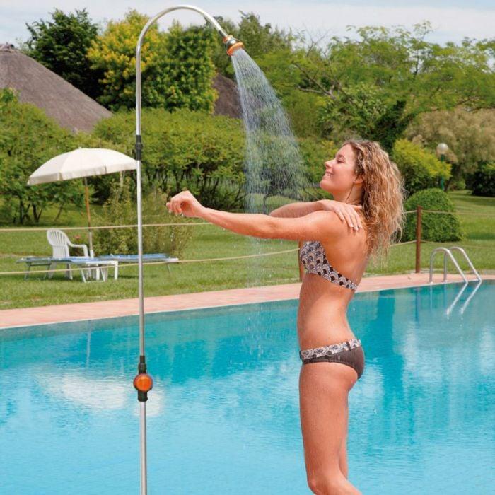 Douche solaire pour jardin ou camping