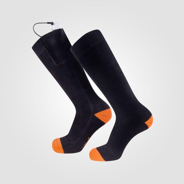 Beheizbare Socken mit Li-Ionen Akkus