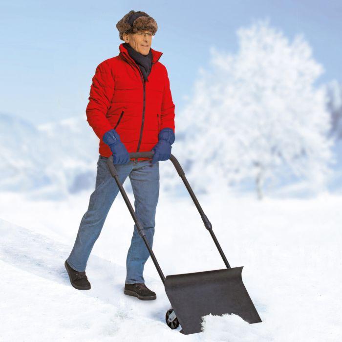 Poussoir à neige pro, 56 cm