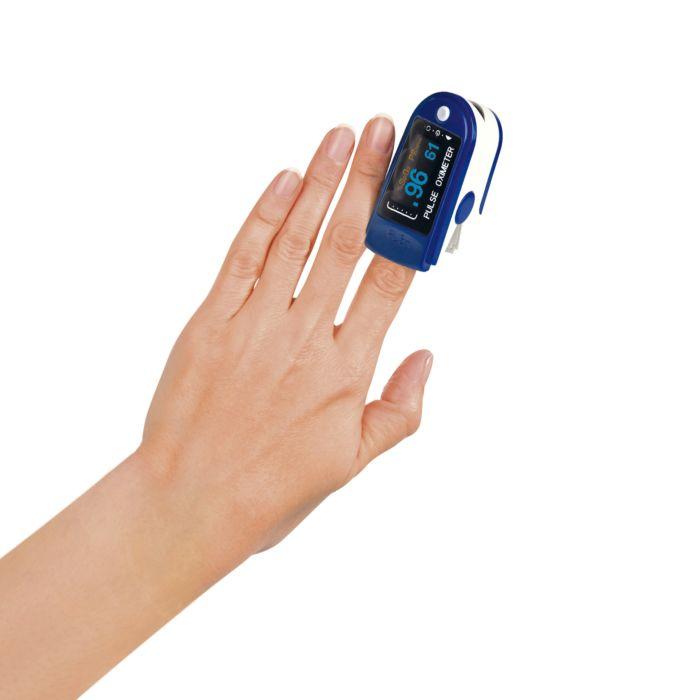 Oxymètre pour contrôle de saturation en oxygène et du pouls