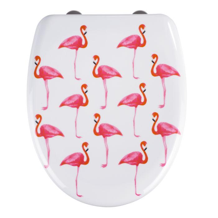 WC-Sitz Flamingo weiss