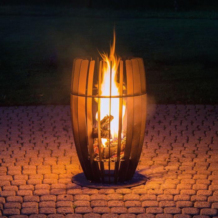 Feuerkorb Mira Eisen schwarz