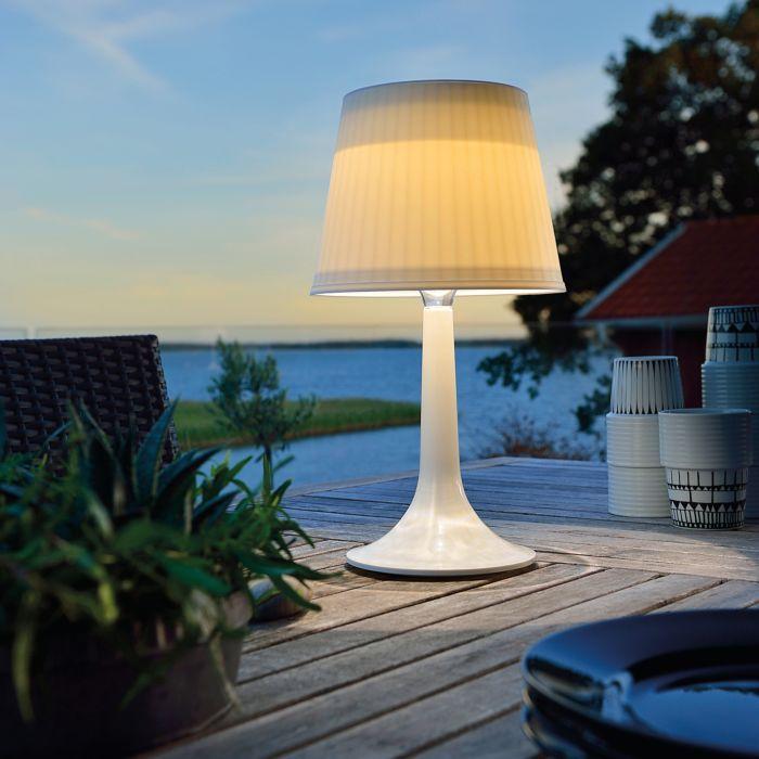 Solar LED-Tischlampe Assisi