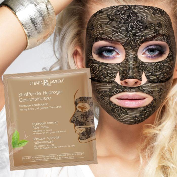Straffende Hydrogel Spitzen-Gesichtsmaske 3er Set