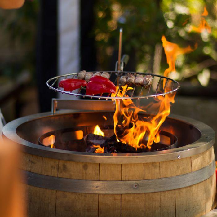 Grill- und Feuerstelle Barrique