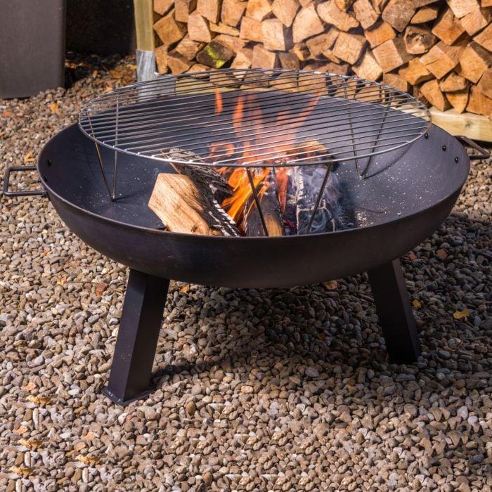 Nouvel Grillrost für Feuerschalen