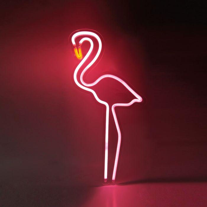 Flamingo Neon Leuchte pink