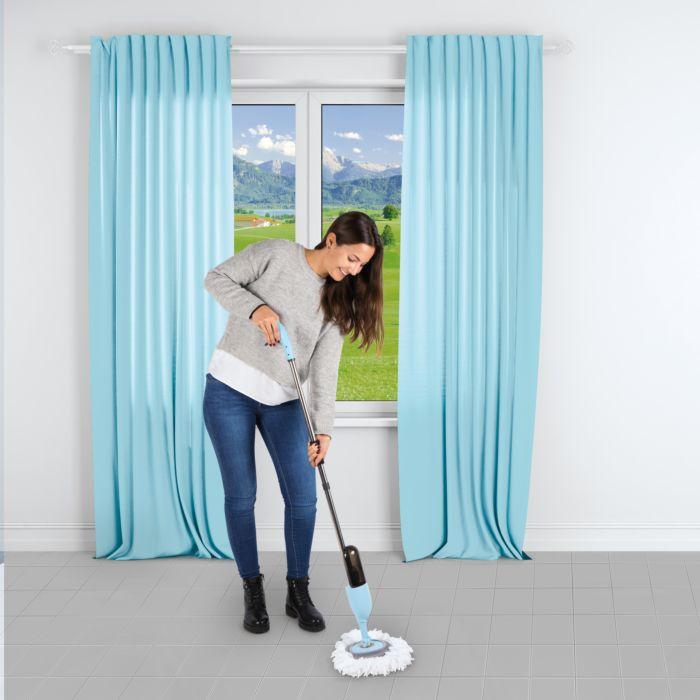 Spray Mop mit 2 Putzaufsätzen
