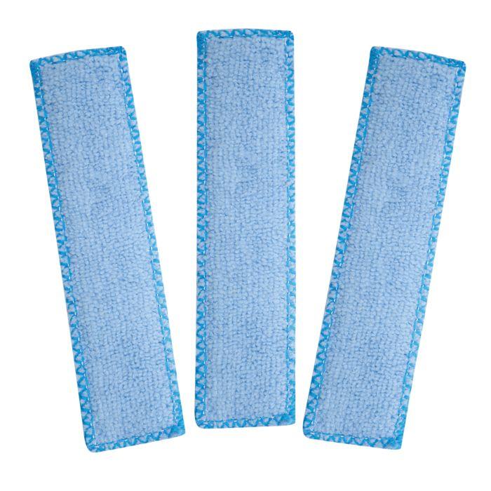3 serpillières microfibre pour balai multifonctions
