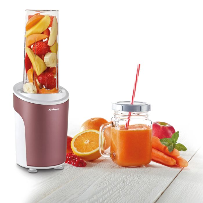 Trisa Standmixer Power Smoothie rosa