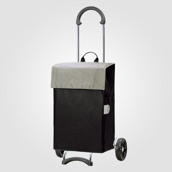 Einkaufstrolley Scala Shopper Hera silber 44 L