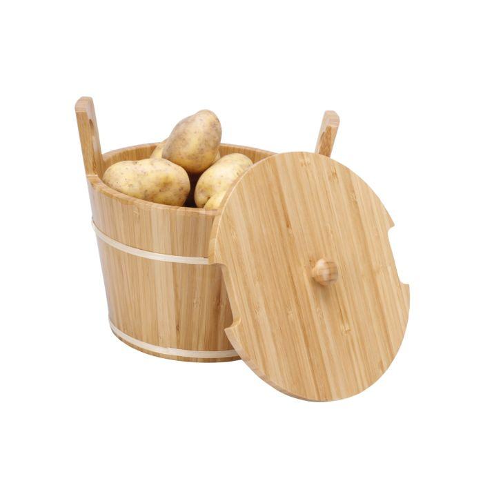 Corbeille à pommes de terre en bambou FSC