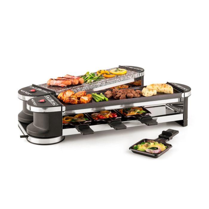 """Raclette-Gerät """"Docking-8"""" 21-teilig, für 8 Personen"""