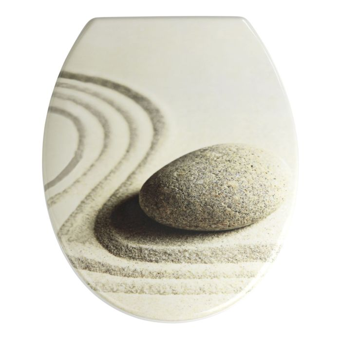 Abattant de WC Sand & Stone, Duroplast