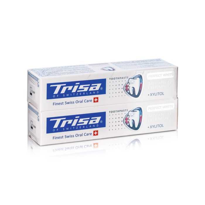 Dentifrice Trisa Perfect White, Duo