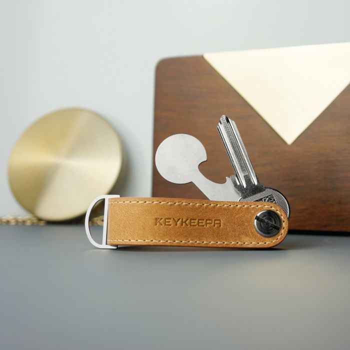 KEYKEEPA Loop Schlüsselmanager aus Leder