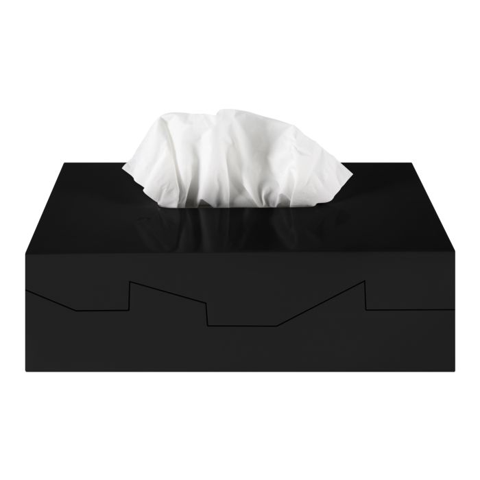 Boîte à serviettes démaquillantes Spirella Silhouette
