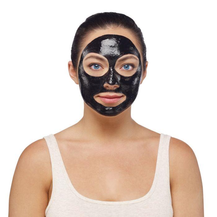 Masque pour le visage Black off Mask au charbon actif