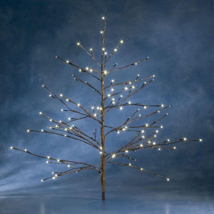LED-Baum in-/outdoor braun