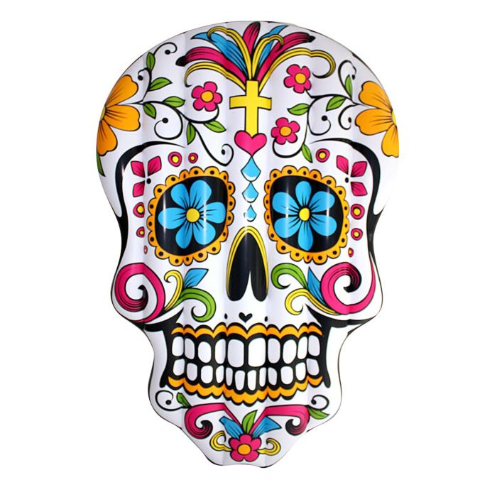 Luftmatratze Sugar Skull