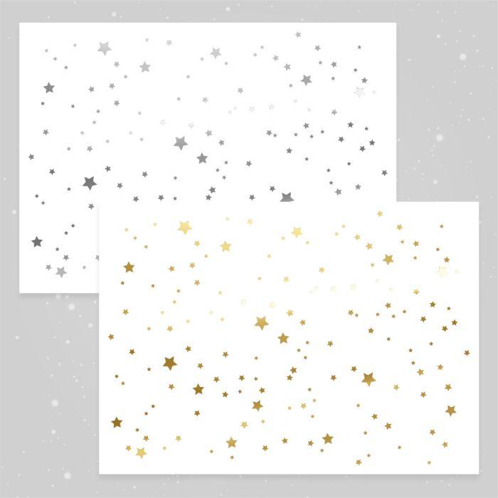 Papiertischset Star