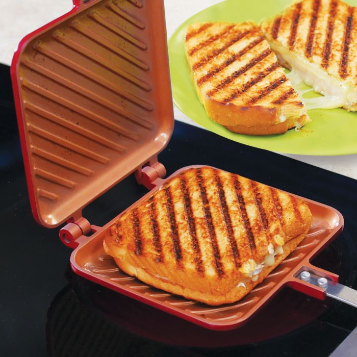 Livington Copperline Flipwich Toast und Panini Maker