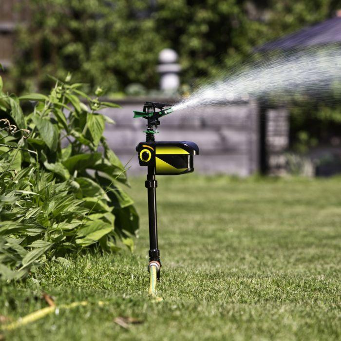 Tierabwehr-Wassersprinkler mit Solar-Akku